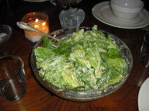 Green Goddess Salad is a nice counterpoint to gumbo.