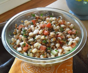 Farro and White Bean Salad
