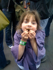 The Chocolate Salon in San Francisco attracted candy lovers of all ages.