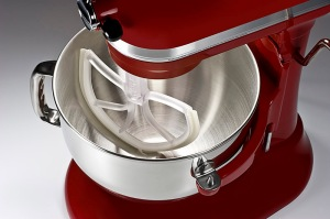 Beat Blade scrapes the bowl of a stand mixer, so you don't have to.
