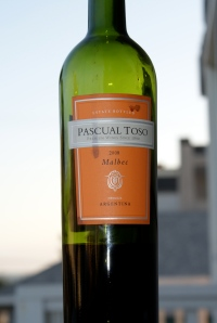 Heady and yummy, Pascual Toso malbec is a delicioso find for 15 bucks a bottle.