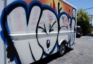 Moveable feast: Business is so good that Kogi has added a third truck to their fleet.